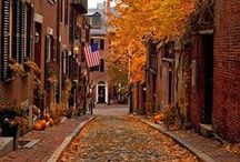 Fall Travel / Fall is a great time of year to plan a vacation.  Enjoy a get away whether for a weekend or a week or longer! / by DWB Vacations LLC