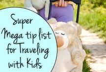 Tips For Traveling with Children / Tips and Tricks For Traveling with Children.  With a Little Planning, Traveling With Children Can Be a Rich Experience For All. / by DWB Vacations LLC
