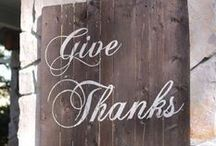 Happy Thanksgiving! / Count your blessings this Thanksgiving!  Enjoy old family traditions and make new family traditions this Thanksgiving! / by DWB Vacations LLC