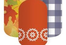 Fall in love with Jamberry / My favorite fall-inspired nail wraps by Jamberry!