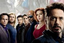 Avengers & actors / Photos, gifs and videos with Avengers and actors