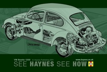 Haynes Cut-away views / by Pádraig Ó Dornáin