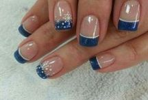 Nails. My nail lady is gonna hate this board!  Lol / Inspiration / by Allie Notgonnatellya