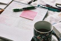 """Studying / """"I don't like studying. I hate studying. I like learning. Learning is beautiful."""" - Natalie Portman / by Vintage Typewriter"""