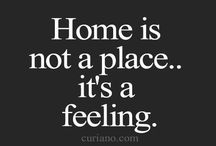 WORDS Home sweet home...