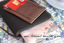 Leather Accessories / For shopping info@cueropapelytijera.com