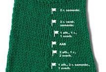 Breien - Knitting tutorials