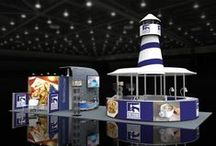 Trade Show Displays / Trade show displays are an extension of your brand. At Adler Display, we create engaging and impactful brand experiences for your customers and prospects. From quick and easy banner stands to custom island displays, Adler Display has the expertise and experience to help you stand out on the trade show floor.