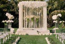Wedding Ceremonies / Inspiration for wedding ceremonies