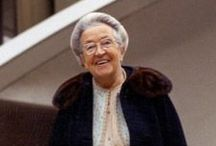 Corrie Ten Boom / this woman lived through hell on earth.  yet the power and love of Christ in her helped her overcome all bitterness and hatred toward her persecutors.