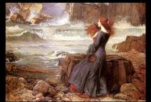 Pre Raphaelite Paintings / I could lose myself in Pre Raphaelite paintings for hours...