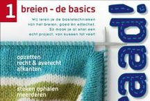 Draad! #1: breien - de basics / Draad! #1, een uitgave van Wol & Co. De basistechnieken van het breien. Op wolenco.nl ondersteund met video's.
