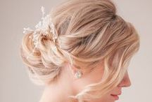 wedding upstyles / Wedding hair styles
