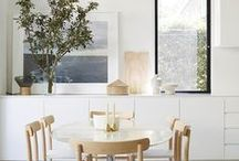 DINING ROOM / Interior Design, Styling, Architecture, Food, Kitchen