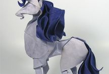 Origami and other paper crafts
