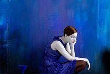 Feeling blue / Interior design