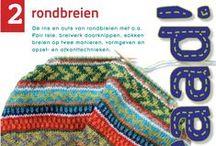 Draad #2 rondbreien / circular knitting / De patronen uit het boek Draad!2 rondbreien