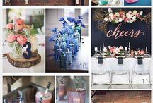 Wedding colour themes