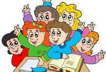 Děti ve škole 1. stupeň / Výuka na 1. stupni ZŠ