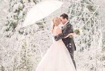 Winter Weddings / Inspiration for a Winter Wedding