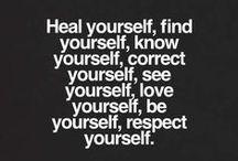 WORDS Love yourself