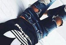 FASHION Adidas in style