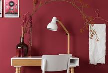 HOME COLOR Marsala / Maroon
