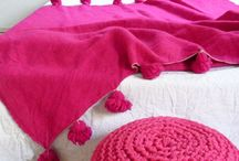 HOME COLOR Hot pink