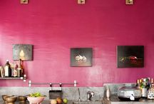 HOME COLOR Raspberry red