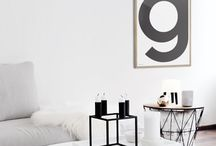 HOME STYLING Letters & numbers