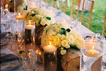 Inspiration: Reception / A collection of floral reception pieces by florists from around the globe including our work at Flowers By Helen Brown.