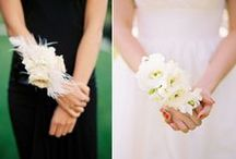 Inspiration: Bridal Party Accessories / A collection of gorgeous wedding accessories for the bridal party by florists from around the globe including our work at Flowers By Helen Brown.
