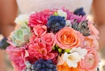Inspiration: Multicoloured / A collection of multicoloured wedding flowers by florists from around the globe including our work at Flowers By Helen Brown.