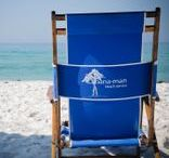 SEASIDE® Cabana Man / Rental service in Seaside, FL for beach chairs, umbrellas, kayaks and more. 850.231.5046