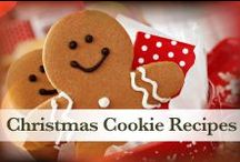 Christmas Cookie Recipies / Santa loves his Christmas treats. Check out some of his favorite Christmas cookie recipes. #Christmas #ChristmasCookies #CookieRecipes #NPX