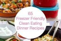 Freezer Meal Recipes / #FreezerMeal recipes