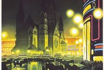 Germany / Original vintage travel and tourism posters related to Germany
