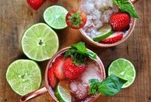 Summer Drinks / We found some cool refreshing summer drinks to help fight the summer heat including alcoholic and non-alcoholic versions.