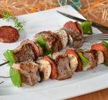 Inspiration Recettes : Barbecue & salades / Recettes pour les barbecues et salades de l'été - Recettes gourmandes, colorées, savoureuses, pour des repas en famille ou entre amis