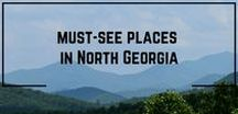 Must-See Places in North Georgia / Most favorite restaurants, events, shops, attractions, and outdoor adventures in the North Georgia mountains and nearby North Carolina and Tennessee. Most are good for families with kids for vacations and day trips.