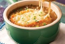 Southern Soups / When it's cold outside it's always good to warm up to a nice hot bowl of soup. We found some delicious Southern soup recipes.