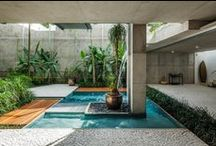 Outdoor Rooms-Patios-Atriums-Terraces-Pools / Everything beautiful about the indoor/outdoor lifestyle / by Joy Bathie