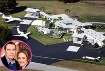 """Houses:  OTT Mega-Mansions and other Exotic Dwellings! /  """"Mine is Bigger Than Yours"""" / by Joy Bathie"""