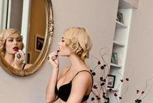 Beautiful Makeup / An inspiration board for your boudoir photo-shoot makeup