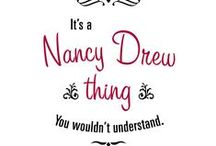Nancy Drew / This board is for everything that has to do with the Nancy Drew books and games. / by Kaity