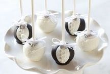 Wedding Cake Pops by Sweet Lauren Cakes / Wedding Cake Pop Awesomeness! / by Sweet Lauren Cakes