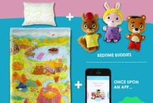 Meet Bedtime / The world's first interactive storytelling bedding set for children