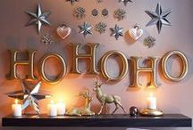 House & Home Christmas Decorating Ideas / All things Christmas ... Decorating ... Crafts