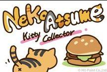 Neko Atsume / A board for the cats from Neko Atsume.