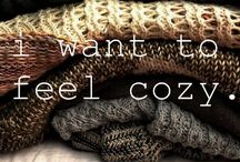 Let's Get Cozy! / Cuddle up with a blanket and a cup of tea, and relax with these super cozy images.